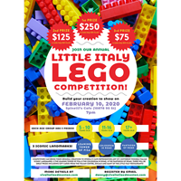 Little Italy LEGO Competition